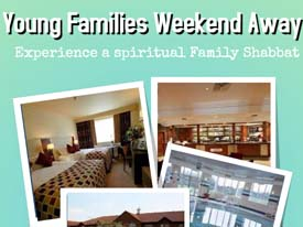 Young Families Weekend Away